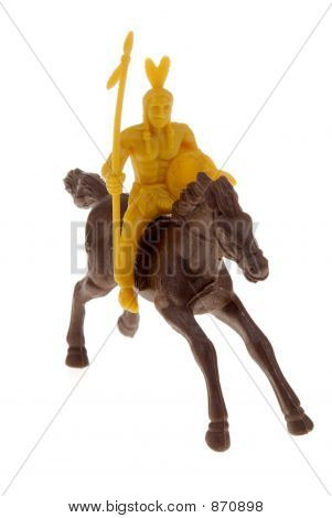 Toy Indian On Horse