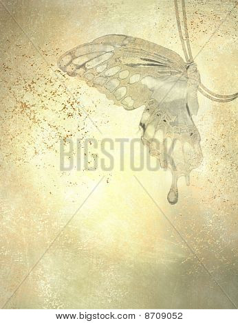 Artistic Butterfly Background