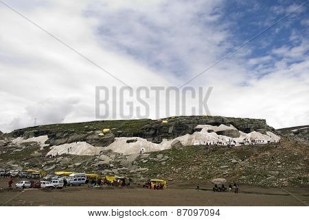 Rothang Pass Tourist point
