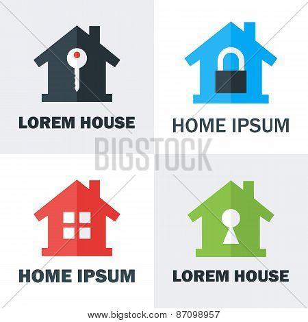 House Logo Design Concepts