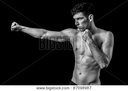 Man punch