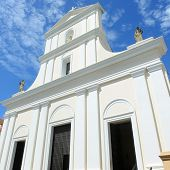 pic of san juan puerto rico  - Cathedral of San Juan Bautista is a Roman Catholic cathedral in Old San Juan - JPG