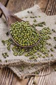 foto of mung beans  - Portion of dried Mung Beans  - JPG