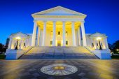 image of virginia  - Richmond State Capitol in Richmond - JPG