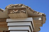 picture of minos  - Fragment of reconstruction of the Minoan palace - JPG
