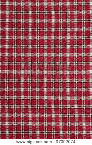 Red and White Plaid.
