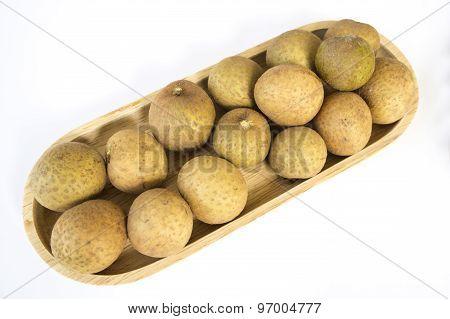Longan Thai Tropical Fruit Herb Sweet Closeup Concept