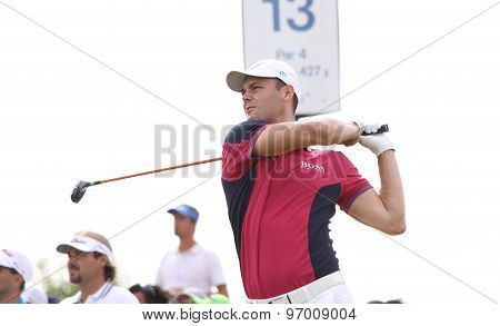Martin Kaymer At The Golf French Open 2015