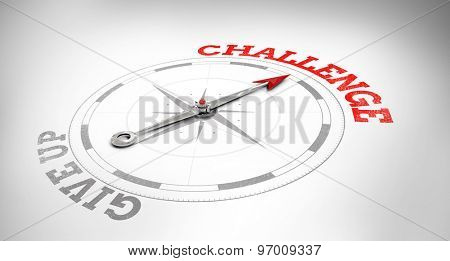 Compass against challenge