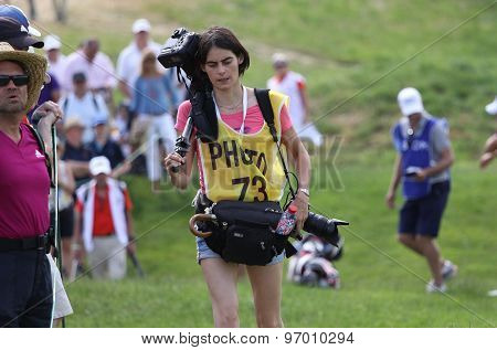 Photographers At The Golf French Open 2015