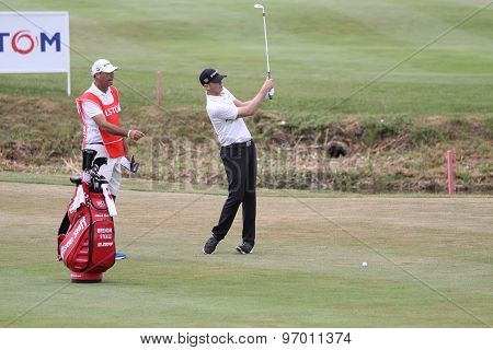 Brendan Steele At The Golf French Open 2015