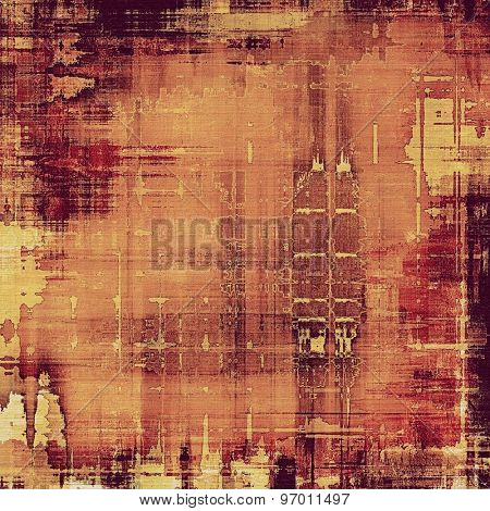 Old ancient texture, may be used as abstract grunge background. With different color patterns: yellow (beige); brown; purple (violet); pink