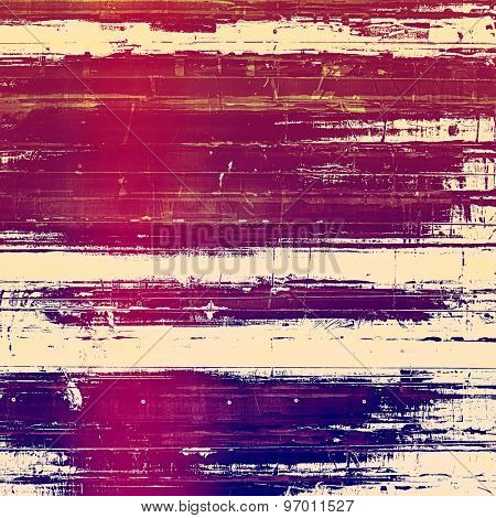 Old texture with delicate abstract pattern as grunge background. With different color patterns: purple (violet); pink; blue; red (orange)