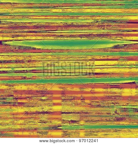 Abstract distressed grunge background. With different color patterns: yellow (beige); brown; purple (violet); green