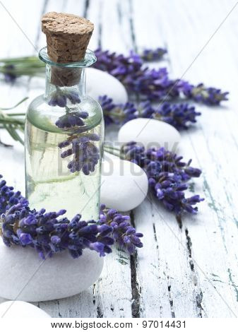 lavender spa arrangement