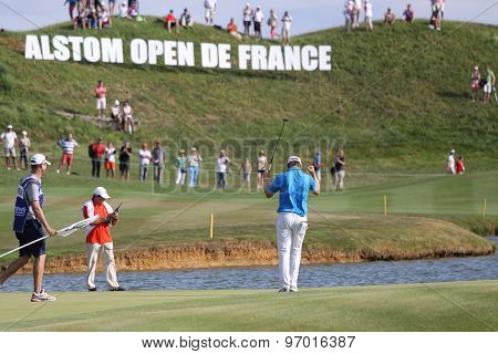 Berndt Weisberger At The Golf French Open 2015
