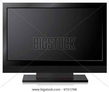 Negro Lcd, Led, pantalla de Tv de Plasma