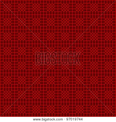Seamless Chinese window tracery polygon diamond geometry pattern background.