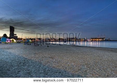 Gdynia Marina By Night
