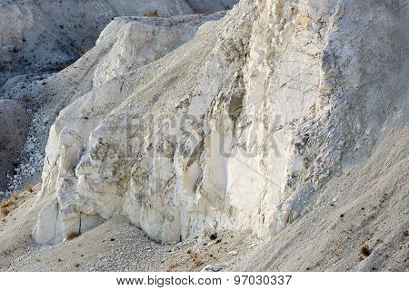 Mining And Quarrying. Chalky Mountains.