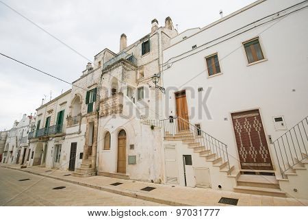 Cisternino In Puglia, South Italy