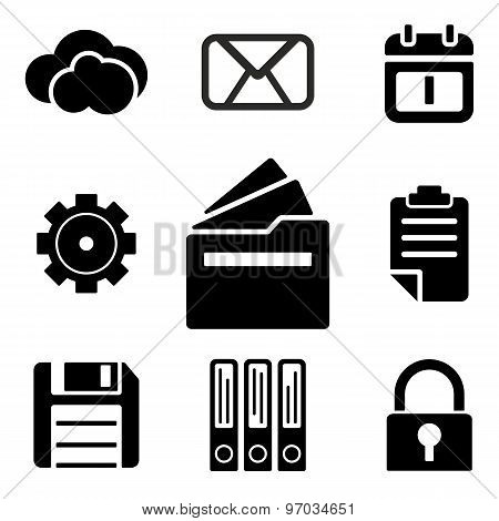 Files Web And Mobile Logo Icons Collection