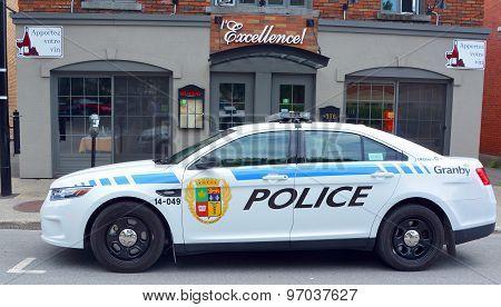 Granby police car