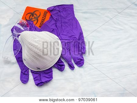 supplies for personal biohazard protection