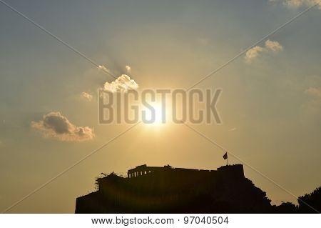 Athens Acropolis Shadow