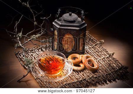 Still Life With Tea Pot