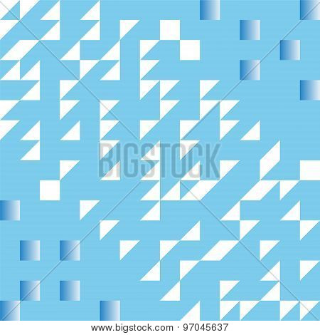 Blue Slide With Gradient Abstract Background