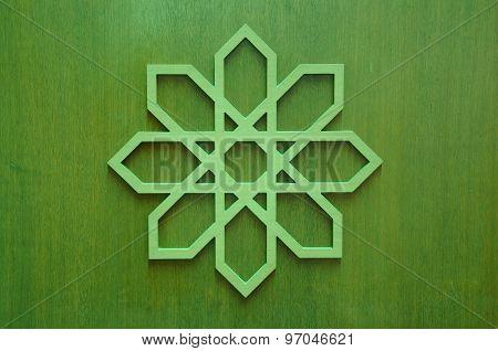 Islamic geometry Islamic pattern at Sultan Haji Ahmad Shah Mosque a.k.a UIA Mosque