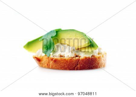 Sandwich Of Toasted Bread
