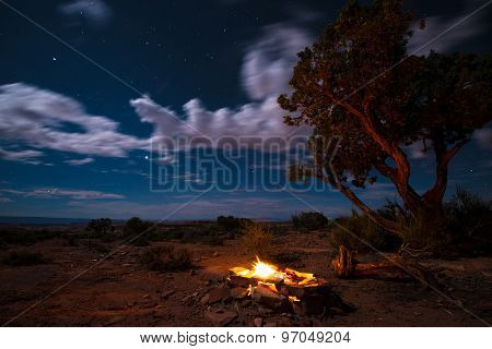 Bonfire Under The Stars