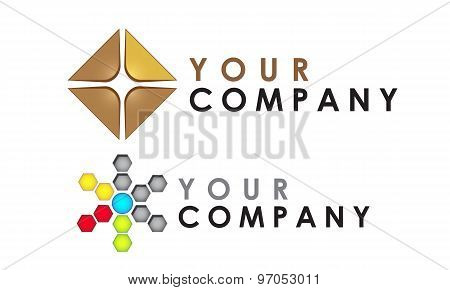 Logo template set