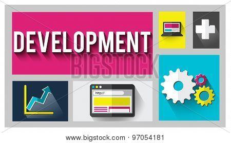 Development Improvement Growth Team Goals Concept