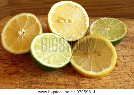 Juicy citrus fruit