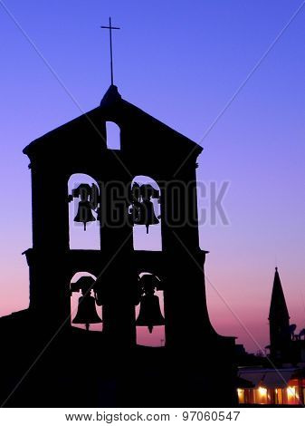 Old bells at day's end