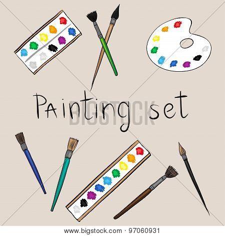 art painting set