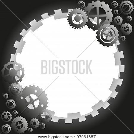 gear circle frame