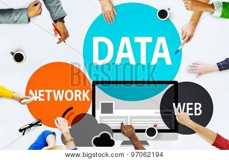 Data Network Web Internet Connection Global Concept