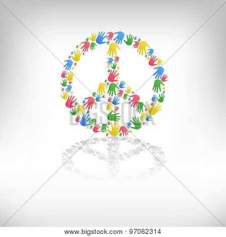 symbol of pacifism and peace