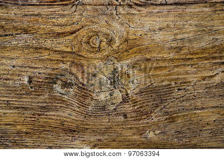 Wood background witch scratches and cracks