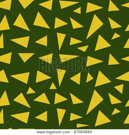 Vector seamless background with triangles