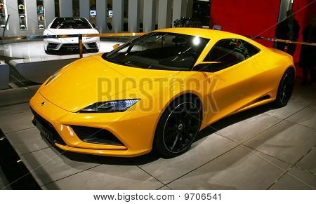 Lotus Elan At Paris Motor Show