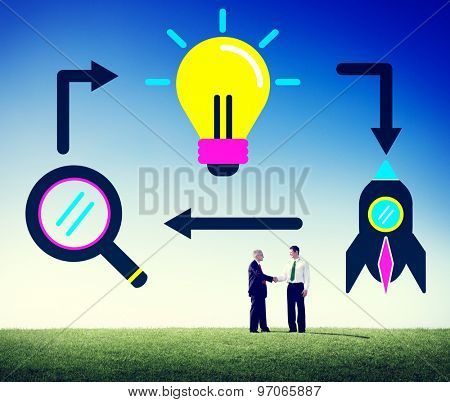 Ideas Creativity Creative Launch Futuristic Concept