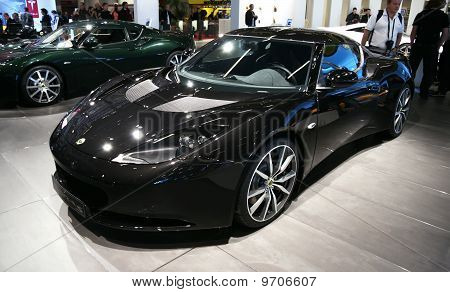 Lotus Evora S At Paris Motor Show