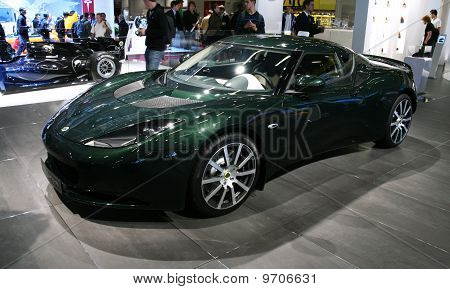 Lotus Evora Ips  At Paris Motor Show
