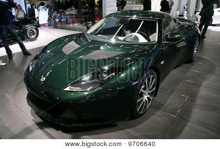 Lotus Evora Ips  At Paris Motor Show