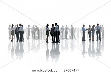 Business People Corporate White Collar Worker Communication Concept
